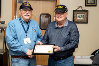 2018_01_25 FVVBC - Herschel and Hank Winkler, February Vet of the Month