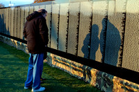 Vietnam Moving Wall - At the Wall (7)